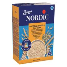 4-viljahelbed kaerakliidega Nordic 600g