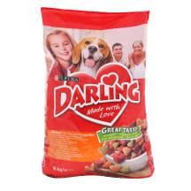 Suņu barība Darling vistas-dārzeņu 10kg