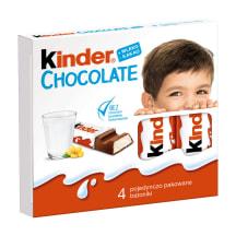 Šokoladas KINDER T4, 50g