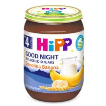 Piena putra Hipp ar banāniem Bio 190g