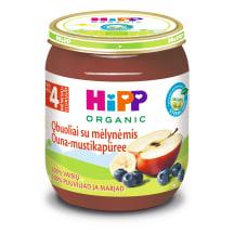 Ekol.ob.mėlyn. tyrelė HIPP, nuo 4 mėn., 125g