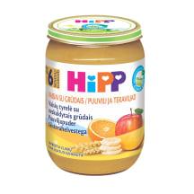 Ekol. vaisinė tyrelė grūd., HIPP, 6mėn., 190g