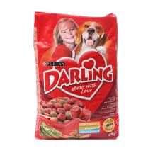 Sausas šunų ėd.su mėsa ir darž.DARLING, 10 kg