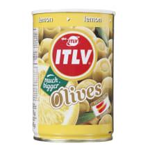 Zaļās olīvas ITLV pildītas ar citronu pastu