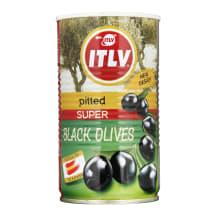 Melnās olīvas ITLV 350g/140g