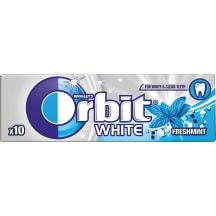 Närimiskumm White Freshmint Orbit 14g