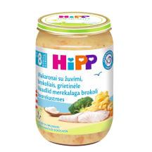 Tyrelė mak.žuv.brok.griet., HIPP, 8+mėn.,220g
