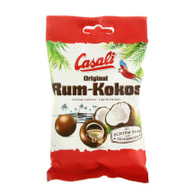 Suflē kokosa Casali ar rumu 100g