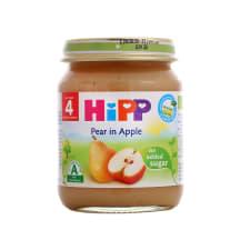Biezenis Hipp bumbieru, ābolu 4mēn. BIO 125g