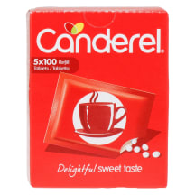 Suhkruasendaja tabletid Canderel 42,5 g