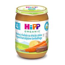 Püree juurvili-lambaliha Hipp 4k 190g