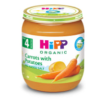 Püree Hipp kartuli-porgandi bio 4k 125g