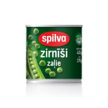 Konservētie zaļie zirnīši Spilva 420g
