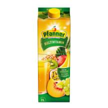 Mitme puuvilja nektar Pfanner 2l