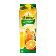 Apelsinų sultys PFANNER, 100%, 2l