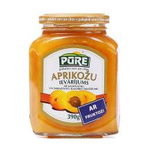 Ievārījums Pūre aprikožu mazkaloriju 390g