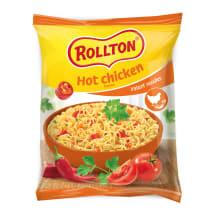 Nūdeles Rollton ar aso vistas buljonu 60g