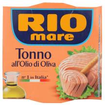 Tuncis Rio Mare olīveļļā 160g/104g