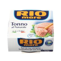 Tunų pjausnys sūryme RIO MARE, 160g