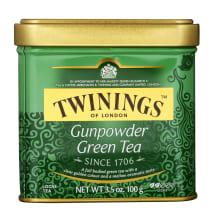Žalioji arbata TWININGS GUNPOWDER GREEN, 100g