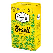 Kohv jahvatatud Brazil Paulig 500g