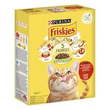 Saus. kačių ėdalas jaut.višt., FRISKIES, 1kg