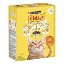 Sausas kačių ėdalas su vištiena FRISKIES, 1kg