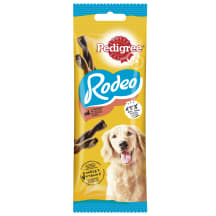 Suņu gardumi Pedigree Rodeo, 4gb 20x70g
