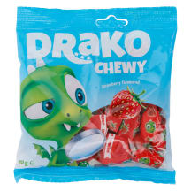 Närimiskommid maasikamaitselised Drako 110g