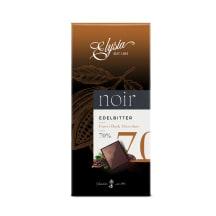 Rūgtā šokolāde Elysia Noir 70% kakao 100g