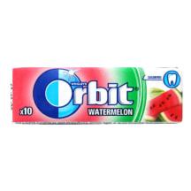 Arbūzų skonio kramtomoji guma ORBIT, 14g