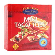Maisikausid mini taco Santa Maria 120g