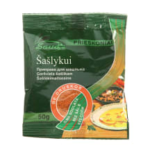 Šašlykų prieskoniai SAUDA (be druskos), 50g