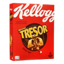 Šokoladiniai dribsniai KELLOGS TRESOR, 375 g