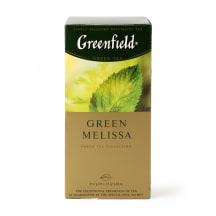 Zaļā tēja Greenfield Green Melissa 25x1,5g