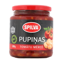 Pupiņas Spilva tomātu mērcē 580g/340g