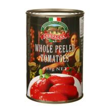 Nul. pomidorai savo sultyse, CAMPAGNA, 400g