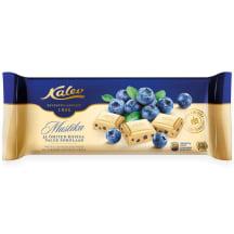 Valge šokolaad riisi&mustikaga Kalev 200g