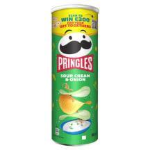 Čipsi Pringles ar krēj. un sīp. garšu 165g