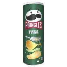 Krõpsud juustu-sibula Pringles 165g