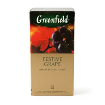 Augu tēja Greenfield Festival Grape 25x2g