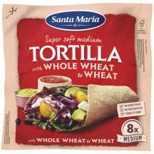 Tortiljas Santa Maria piln. kviešu 320g