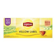 Melnā tēja Lipton 100x2g