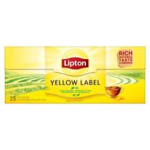Melnā tēja Lipton Yellow Label 25x2g