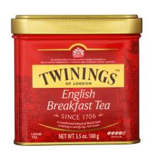 Juod. arbata TWININGS ENGLISH BREAKFAST, 100g