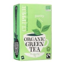 Ekologiška žalioji arbata CLIPPER, 50g