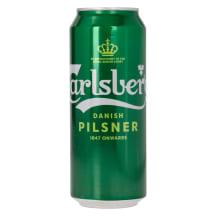 Õlu Carlsberg Hele 5%vol 0,5L prk