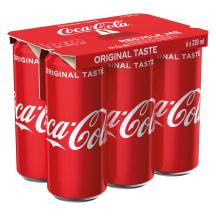 Gāzēts dzēriens Coca-Cola 6x0,33l