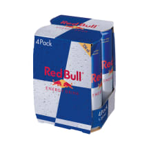 Energetinis gėrimas RED BULL, 4 x 250ml
