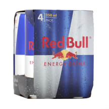 Enerģijas dzēriens Red Bull komplekts 4x0,25l